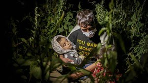 FOTO: Jalan Berliku Pengungsi Kabur dari Afghanistan